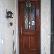 rénovation porte d'entrée